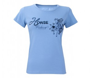 Damen T-Shirt Riding Forever