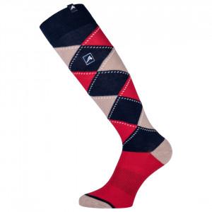 Karierte Socken Polygiene