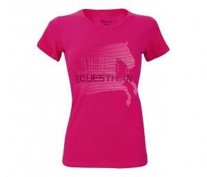 Damen T-Shirt Just Equestrian