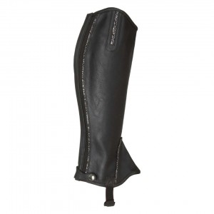 IR mini chaps synthetic leather Glitter