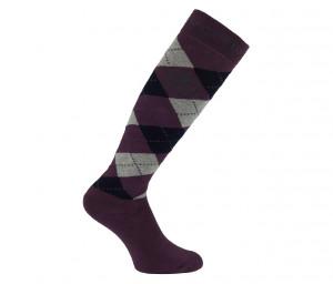 Damen Socks Argyle