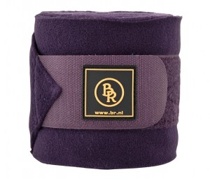 Polobandagen BR Event Fleece 3 mtr Set/4 St.in lux.Tasche