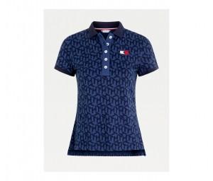 Damen Poloshirt Iconic Monogram TH