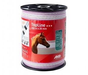 Band TopLine,200m, 20mm, 6x 0,25mm