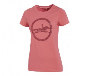 T-Shirt Damen Rundhals SPORTS Lola Style