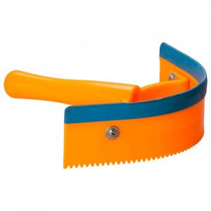 IRH-Schweißmesser einhändig mit Gummilippe PVC