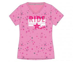 Damen T-shirt Ride On F/S 20