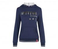 Damen Hoodie Sweater Royal