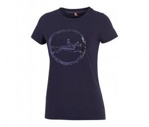 T-Shirt Damen Rundhals SPORTS Lola Style