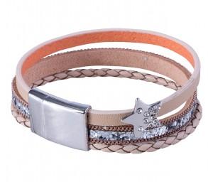 Damen Armband Silver-Star