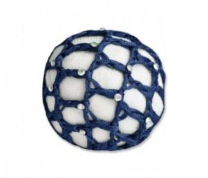 Haarnetz mit Glitzersteinchen (VE3)