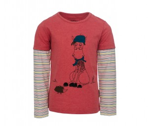Kinder T-Shirt Double Sleeve