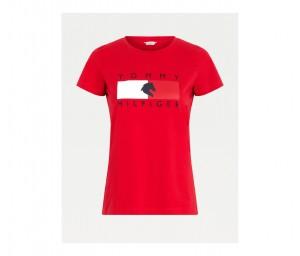 Damen Rundhals T-Shirt TH Equestrian Statement