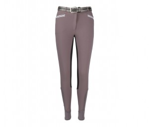 Damen Reithose Lexington Kontrast Grip
