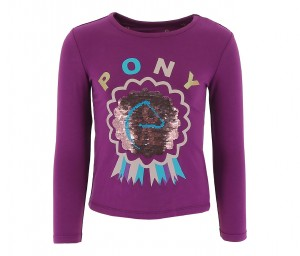 Equi-Kids T-Shirt Pony Love Sequin